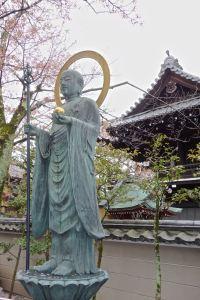 buddha w: blossoms