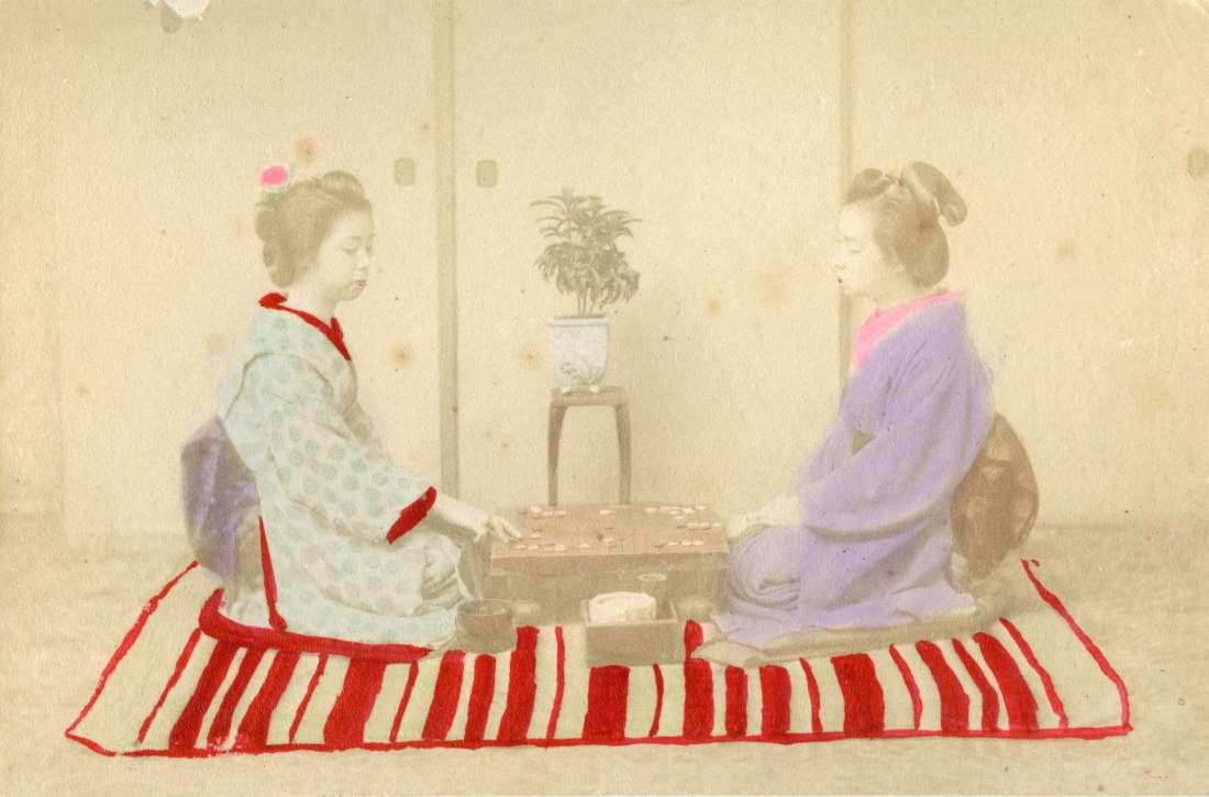 japanese kneeling