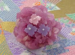 wagashi for hydrangea season