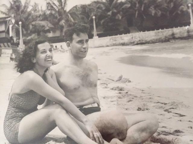 Mom & Dad on their honeymoon, 1938