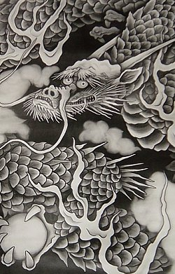 Dragon-kenchouji-hottou-ceiling-late-1990s-by-koizumi-junsaku